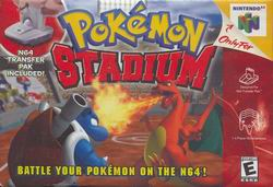 Pokemon Stadium (USA) Box Scan